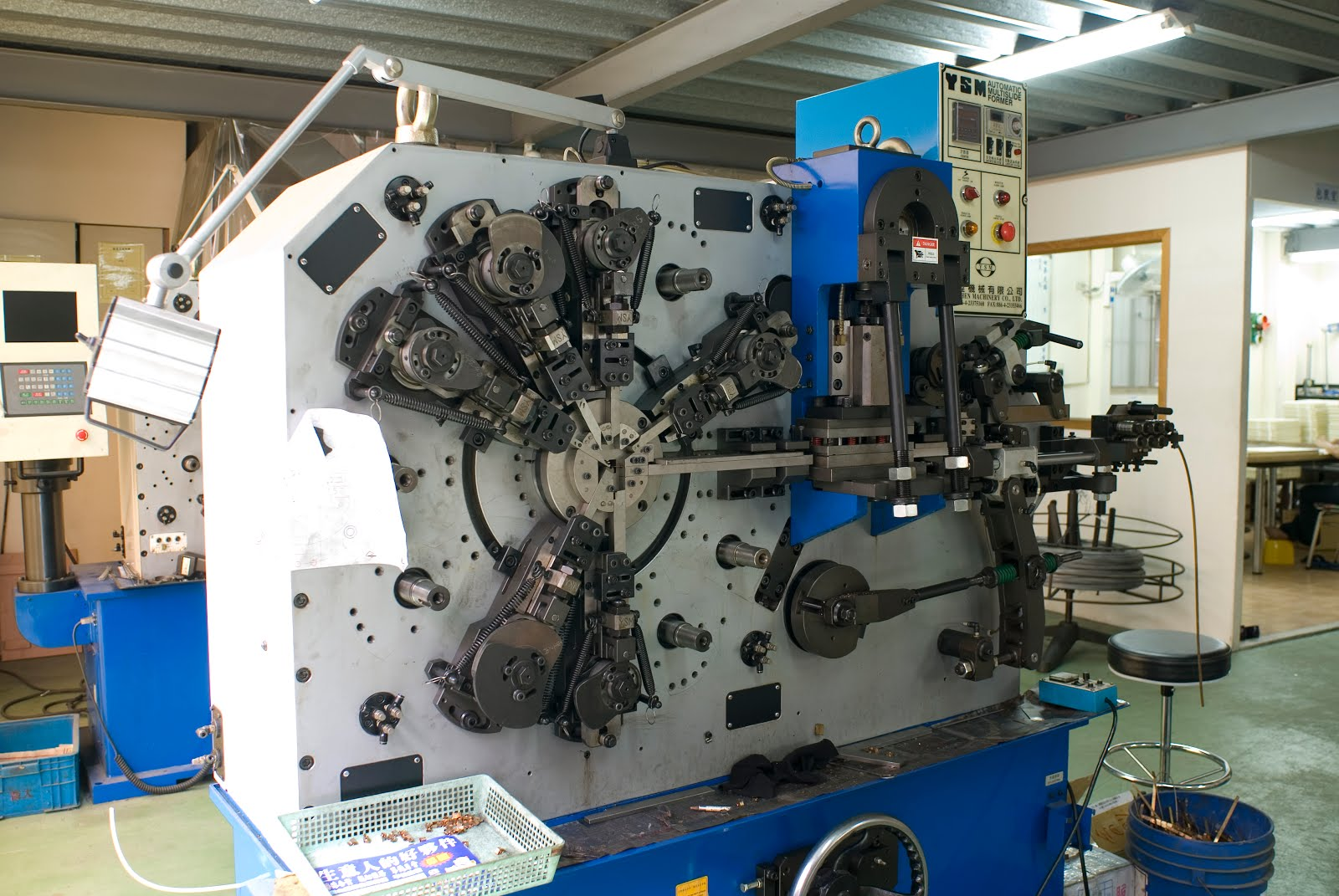 Plate Spring Forming Machine